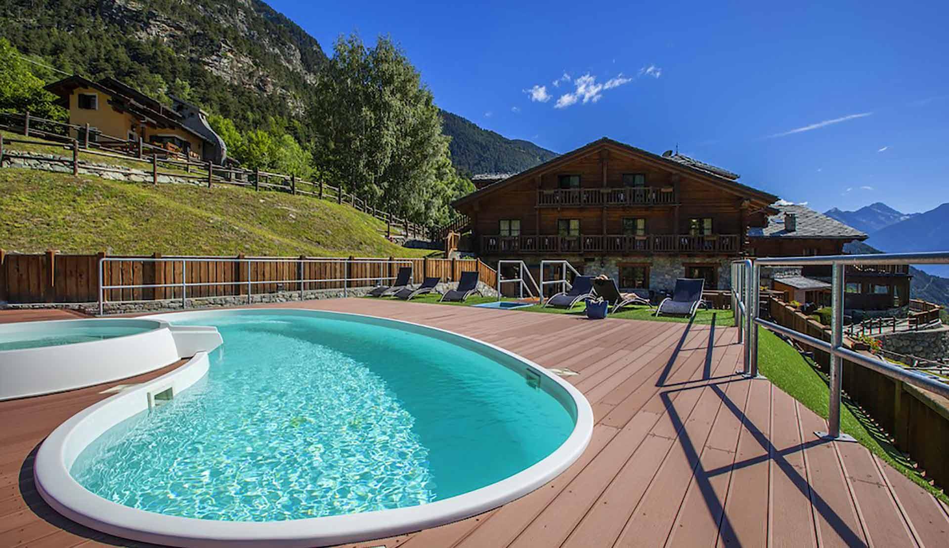 Piscina Hotel Mont avic