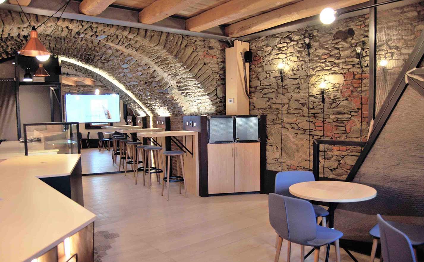 Caffetteria al forte mont avic resort for Immagini caffetteria