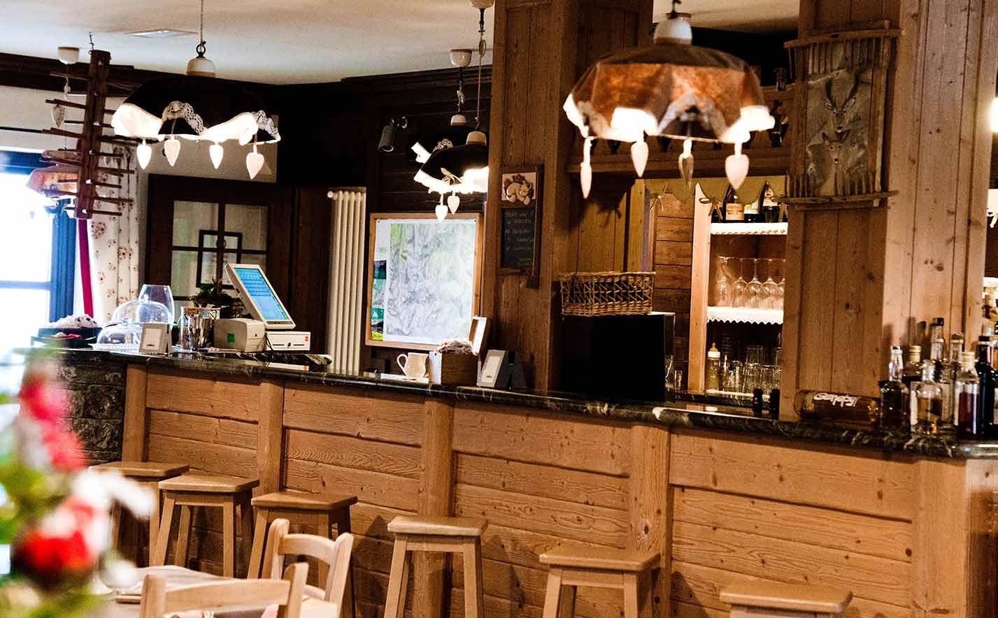 Caffetteria al parco Mont Avic