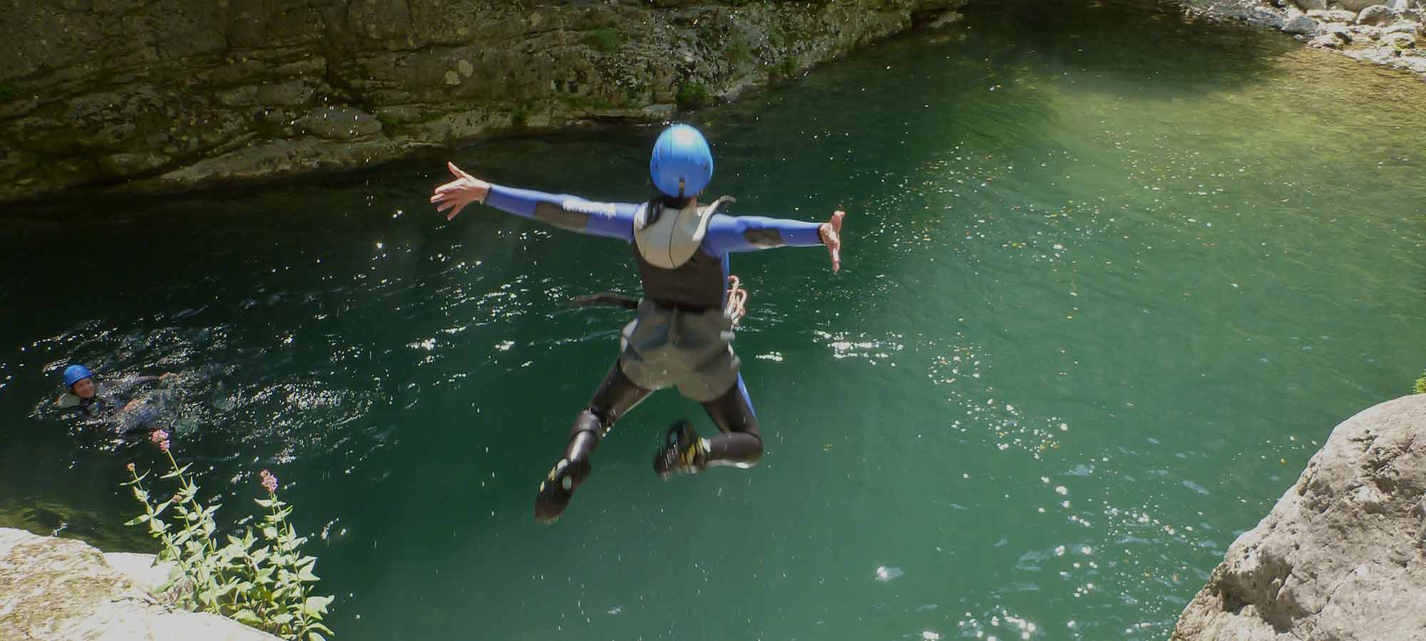 canyoning al Parco Mont Avic