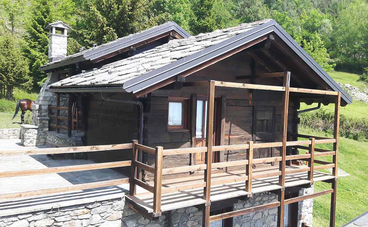Chalet in stile alpino Mont Avic